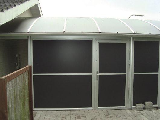 Carport Dobbelt Specialbygget Med Redskabsrum