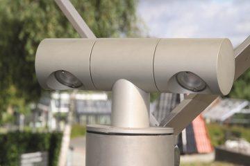 Udendørs LED-lampe til carporte og terrasseoverdækninger