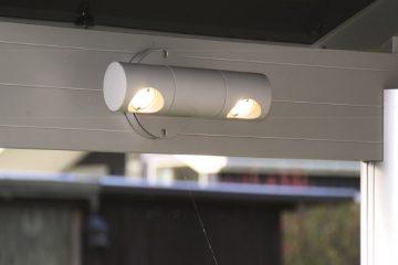 Udendørs væghængt led-lampe