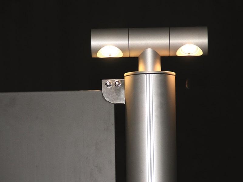 Seneste Udendørs LED-lampe til carporte og terrasseoverdækninger GF14